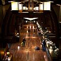 Disneyland Grand Californian Hotel Front Desk 02 by Thomas Woolworth