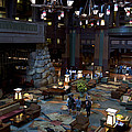 Disneyland Grand Californian Hotel Lobby 01 by Thomas Woolworth