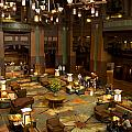 Disneyland Grand Californian Hotel Lobby 04 by Thomas Woolworth