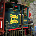Disneyland Rr Oiling Green Engine 3 by Thomas Woolworth