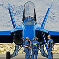 Display Debrief- Blue Angels by Steve Rowland
