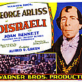 Disraeli, George Arliss On Title Card by Everett