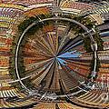 Distorted Lower Manhattan by Susan Candelario