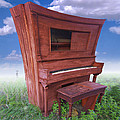Distorted Upright Piano 2 by Mike McGlothlen