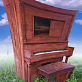 Distorted Upright Piano by Mike McGlothlen