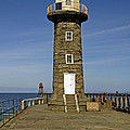 Disused East Pier Lighthouse - Whitby by Rod Johnson