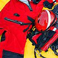 Diver Emergency Rescue Kit by Olivier Le Queinec