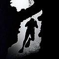 Diver Silhouette  by Bill Owen