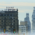 Divine Lorraine And City Hall - Philadelphia by Bill Cannon