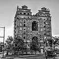 Divine Lorraine In Pain - Black And White by Bill Cannon