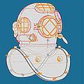 Diving Helmet Mark V by Andrei SKY