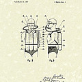 Diving Unit 1949 Patent Art  by Prior Art Design