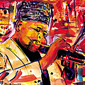 Dizzy Gillespie by Everett Spruill