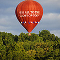Do All To The Glory Of God Balloon by Bill Cannon