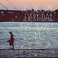 Do One Thing Every Day by Mable Tan