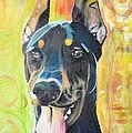 Doberman by PainterArtist FIN