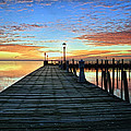 Dock A The Bay by J Charles