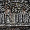 Dock Marker by Gareth Burge Photography