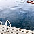 Dock On Calm Summer Lake by Elena Elisseeva