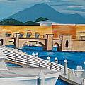 Dock On Mandalay Bay by Illona Battaglia Aguayo