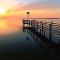 Dock On The Sunset Sound by Roupen  Baker