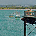 Dock Overlooking Quepos Bay-costa Rica by Ruth Hager