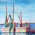 Docked Duo by Deborah Naves