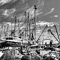 Docked Shrimper by Kip Pears