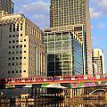 Docklands London by Julia Gavin