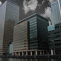 Docklands London by Martin Newman