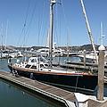 Docks At Sausalito California 5d22688 by Wingsdomain Art and Photography