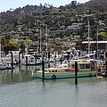 Docks At Sausalito California 5d22697 by Wingsdomain Art and Photography