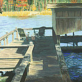 Docktime by Sherryl Lapping