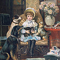 Doddy And Her Pets by Charles Trevor Grand