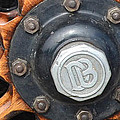 Dodge Brothers Hubcap And Spokes by Luther Fine Art