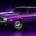 Dodge Challenger Hemi - Shadow by Marc Orphanos