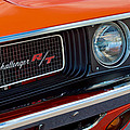 Dodge Challenger Rt Grille Emblem by Jill Reger