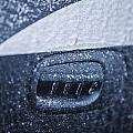 Dodge Charger Frozen Car Handle by John McGraw