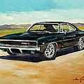 Dodge Charger Rt 1970 by Luke Karcz