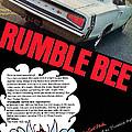 Dodge Coronet Super Bee - Rumble Bee by Digital Repro Depot