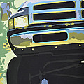 Dodge Ram With Green Hue by Paul Kuras