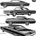 Dodge Rebellion '67 by Digital Repro Depot