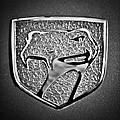 Dodge Viper Emblem -217bw by Jill Reger