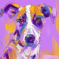 Dog Charlie by Go Van Kampen