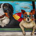 Dog Days Of Summer Edit 3 by Leah Saulnier The Painting Maniac