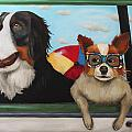 Dog Days Of Summer by Leah Saulnier The Painting Maniac