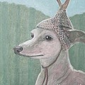 Dog With Antlers by Kazumi Whitemoon