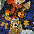 Doggie Xmas Stocking 03 Photo Art by Thomas Woolworth