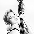 Doghouse Portrait Of Mosh - Double Bass by Gary Heller
