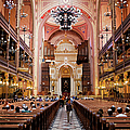 Dohany Street Synagogue In Budapest by Artur Bogacki
